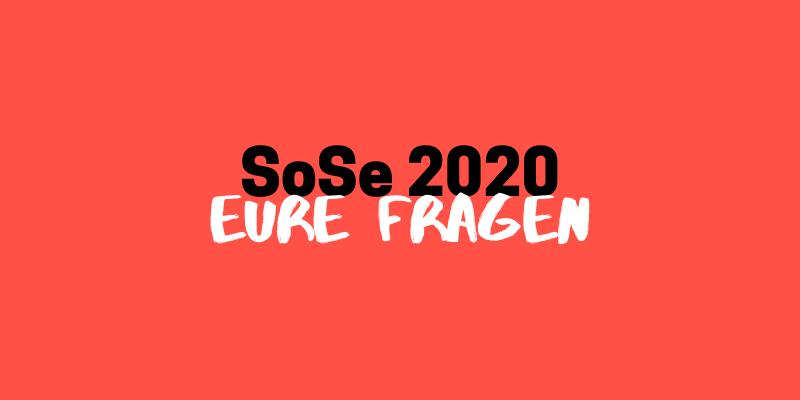 Eure Fragen // Update vom 20.04.2020