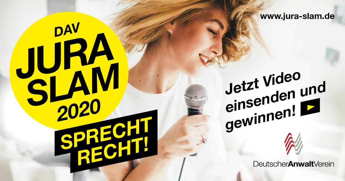 Jura-Slam // Bewerbungen
